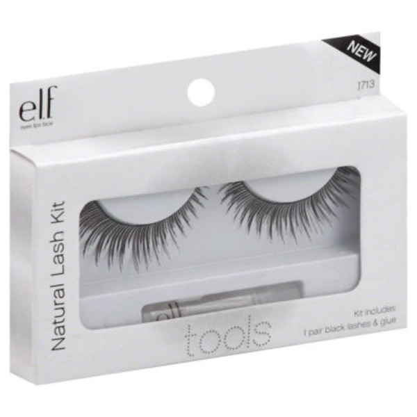 e.l.f. Natural Lash Kit  - Black
