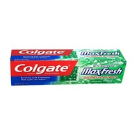 Colgate Max Fresh Whitening Fluoride Toothpaste With Mini Breath Strips Clean Mint