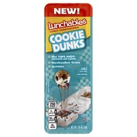 Oscar Mayer Lunchables Cookie Dunks Lunch Combination