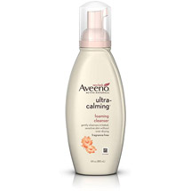 Aveeno(R) Ultra-Calming Foaming Cleanser Pump Cleansers