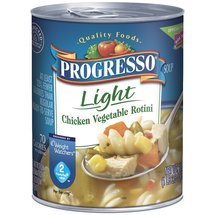 Progresso Quality Foods Light Chicken Vegetable Rotini Soup