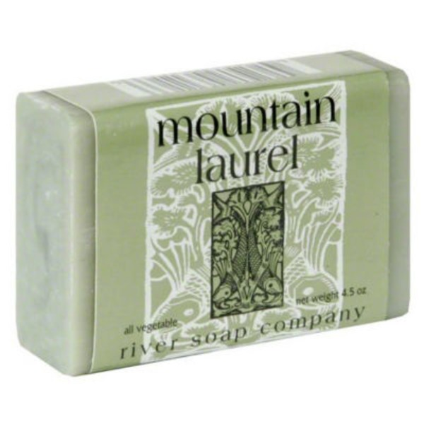 River Soap Company Spo Mountain Laurel Soap