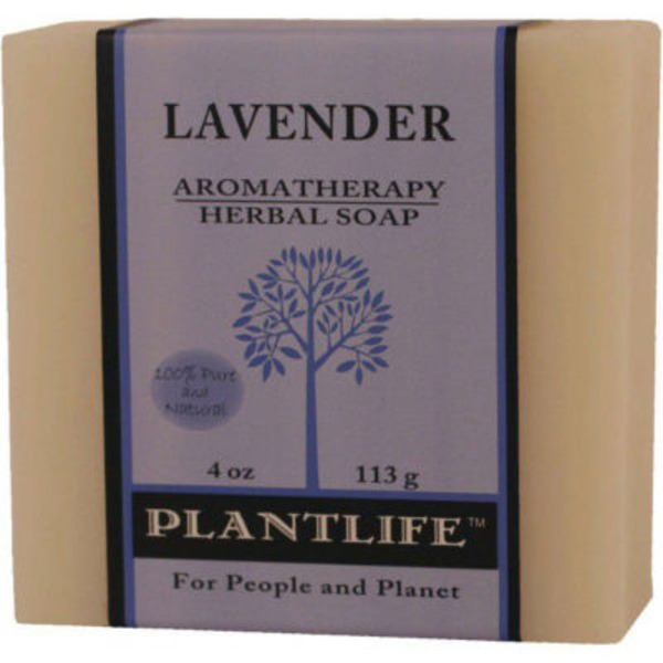 Plantlife Lavender Aromatherapy Herbal Soap