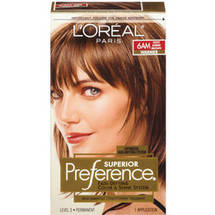 L'Oreal Paris Preference Fade Defying Color and Shine System Light Amber Brown 6AM