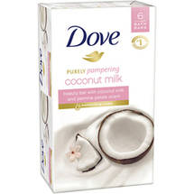 Dove Purely Pampering Coconut Milk with Jasmine Petals Scent Beauty Bars
