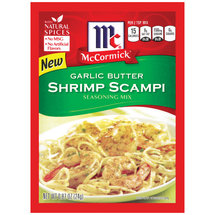 McCormick Shrimp Scampi Garlic Butter Seasoning Mix