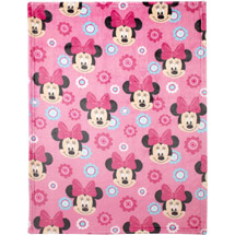 Disney Minnie Mouse Plush Printed Blanket