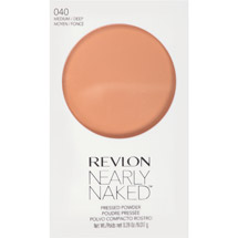 Revlon Nearly Naked Pressed Powder Medium/ deep