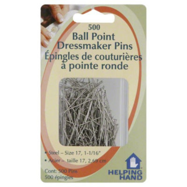 Helping Hand Ball Point Dressmaker Pins