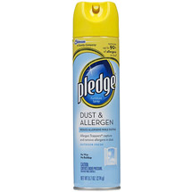 Pledge Dust & Allergen Furniture Spray