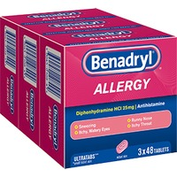 Benadryl Allergy Ultra Tabs