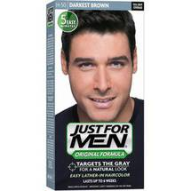 Just For Men Hair Color Shampoo Darkest Brown