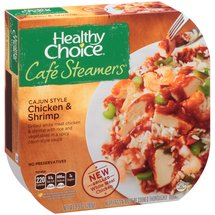 Healthy Choice Cafe Steamers Cajun Style Chicken & Shrimp