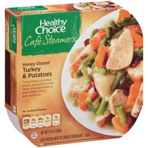 Healthy Choice Cafe Steamers Top Chef Honey Glazed Turkey & Potatoes