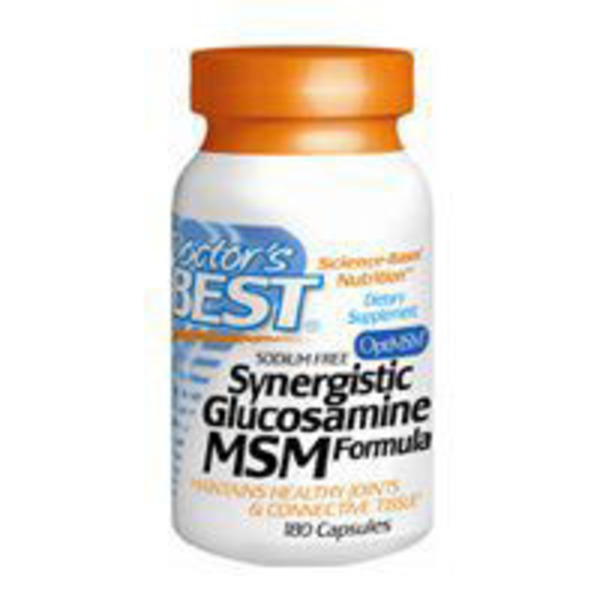 Doctor's Best Synergistic Glucosamine MSM Formula Capsules