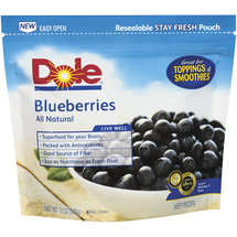 Dole All Natural Blueberries