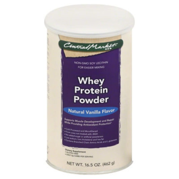 Central Market Vanilla Whey Protein Powder