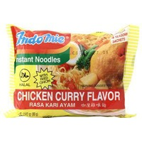 Indomie Chicken Curry Flavor Instant Noodles Soup