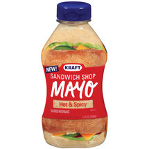Kraft Mayo Sandwich Shop Hot & Spicy Mayonnaise
