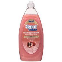 Great Value Pomegranate Scent Dishwashing Liquid