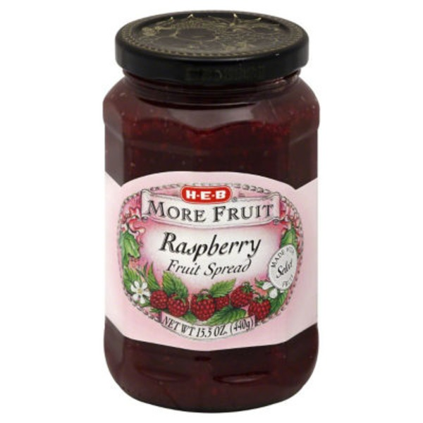 H-E-B Raspberry Fruit Spread
