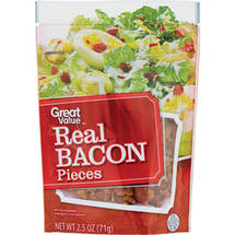 Great Value Real Bacon Pieces