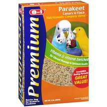 8In1 Pet Products Bird Food Premium Parakeet Canary Finch Food