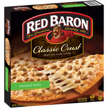 Red Baron Sausage Classic Crust Pizza