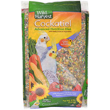 Wild Harvest Premium Blend Cockatiel Food