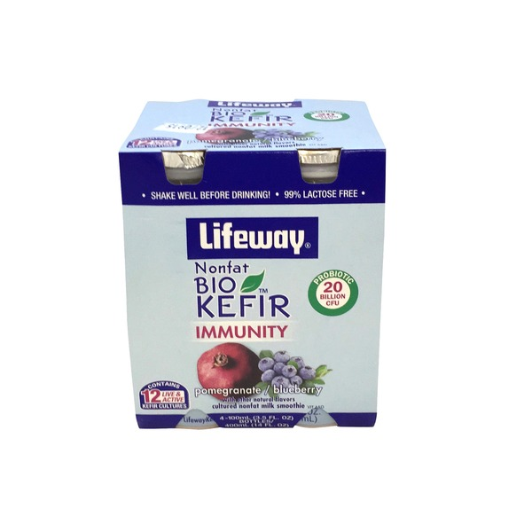 Lifeway Pomegranate Blueberry BioKefir  Cultured Milk