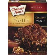Duncan Hines Chocolate Lover's Turtle Brownies