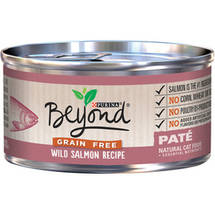 Purina Beyond Grain-Free Wild Salmon Recipe Pate Canned Cat Food