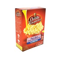 Orville Pour Over Popping Corn Microwave Movie Theater Butter