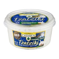 Cedar Tzatziki Greek Strained Yogurt Dip Cucumber Garlic