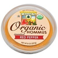 Cedar Organic Roasted Red Pepper Hummus