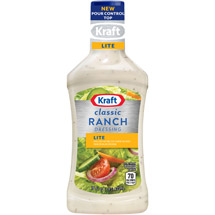 Kraft Salad Dressing: Light Ranch 16 Fl Oz