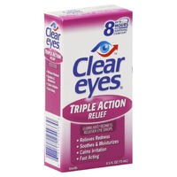 Clear Eyes Triple Action Relief Eye Drops
