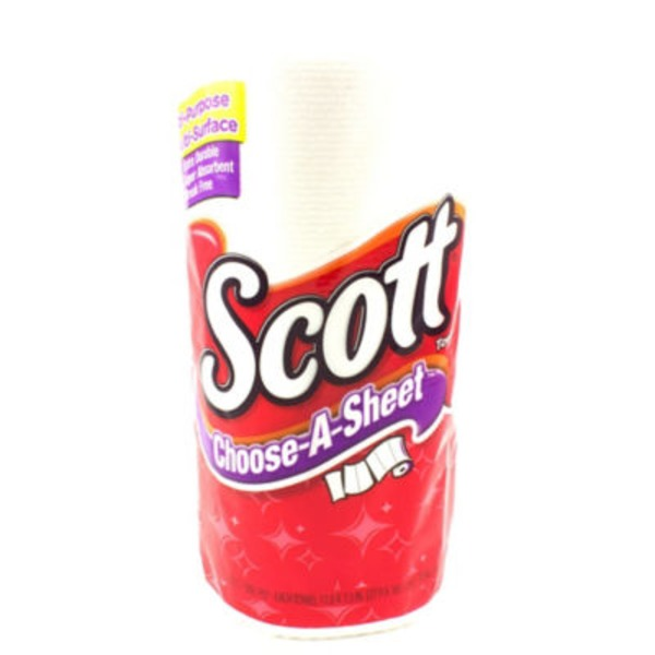 Scott Choose-A-Sheet White Paper Towels