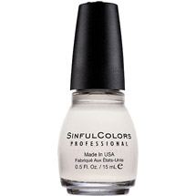 Sinful Colors Professional Nail Polish Snow Me White