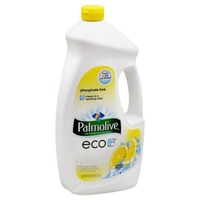 Palmolive Eco + Phosphate Free Gel Dishwasher Detergent Lemon Splash