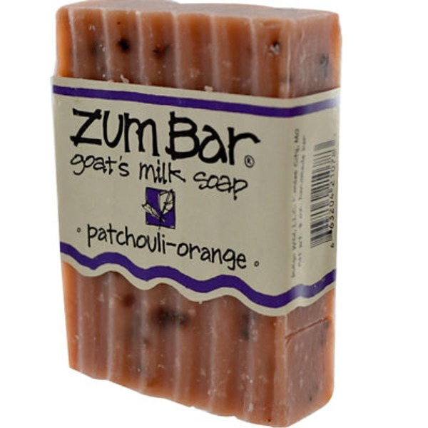 Zum Bar Soap, Goat Milk, Patchouli-Orange, Wrapper