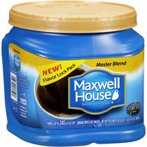 Maxwell House Master Blend Mild Ground Coffee