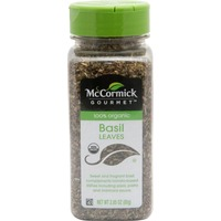 McCormick Gourmet Collection 100% Organic Basil Leaves