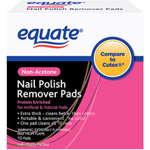 Equate Non-Acetone Nail Polish Remover Pads