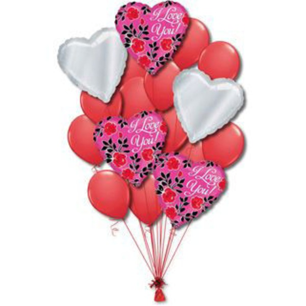 Love Large Balloon Bouquet