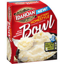 Idahoan Buttery Homestyle Mashed Potato Bowl