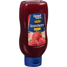 Great Value Squeezable Strawberry Fruit Spread