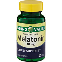 Spring Valley Timed Release Melatonin Sleep Support 10 mg