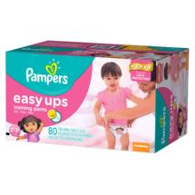 Pampers Easy Ups Girls' Training Pants 2T-3T