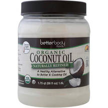 BetterBody Foods Organic Naturally Refined Coconut Oil